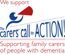 We support The Carers call to Action logo CMYK web