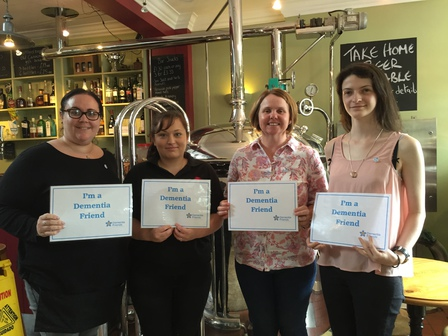 Cannon Brewery staff become Dementia Friends