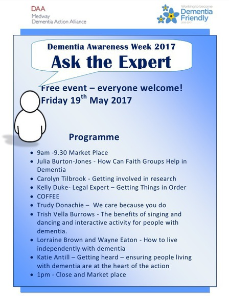 Medway Ask the expert programme