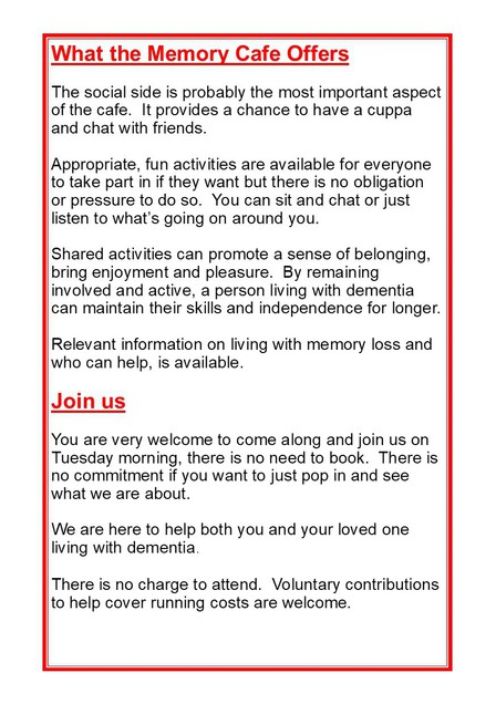 NEW Memory Cafe A5 Leaflet Tamworth page3