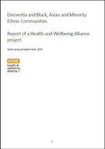 VCSE Dementia in BAME Communities Report