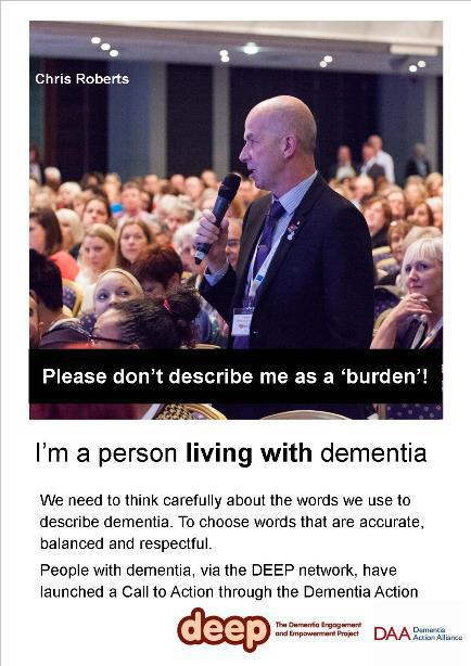 living with dementia Chris Roberts Smaller
