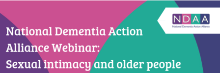 NDAA Webinar Series Sexual intimacy and older people Email Banner1